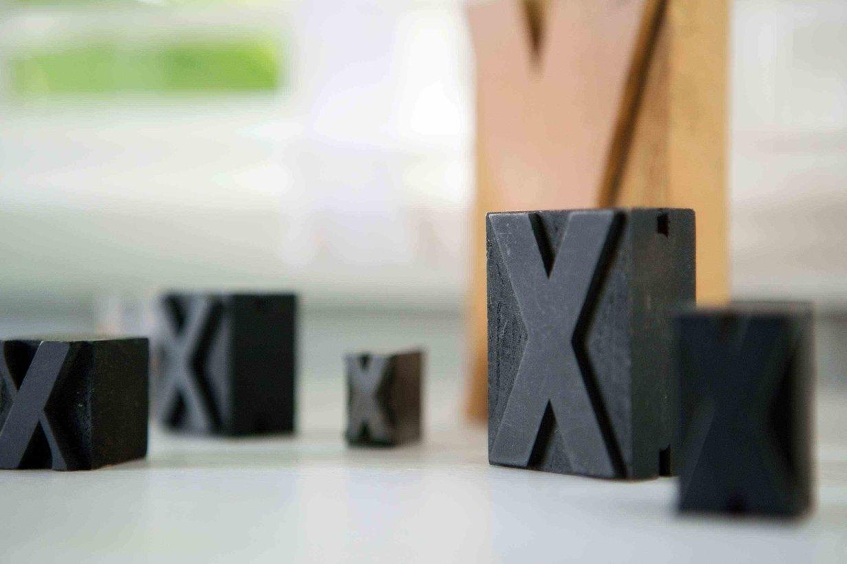 Letterpress Xs