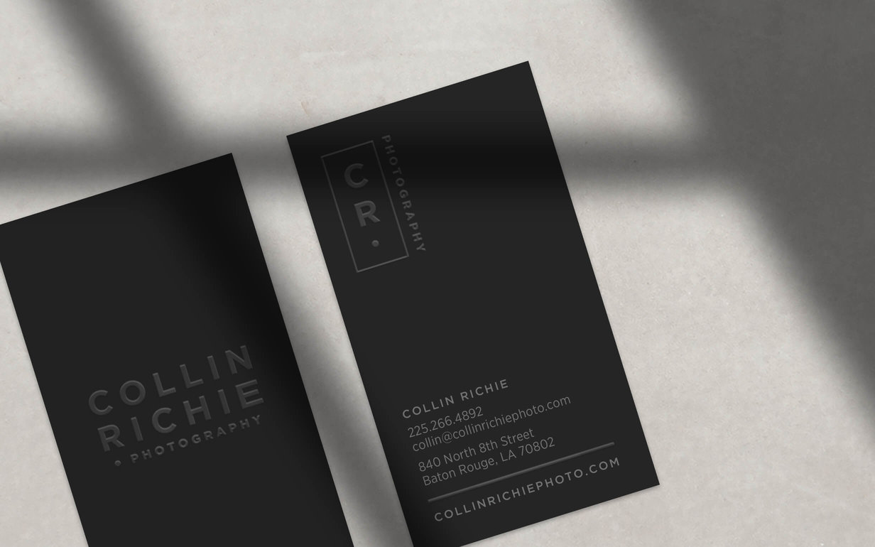 Collin Richie Business Card Half Page