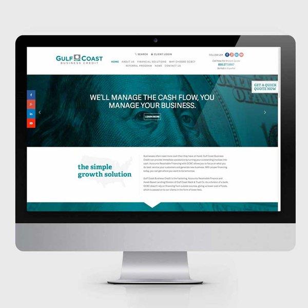 Advancing Brands Gulf Coast Bank Xdesign