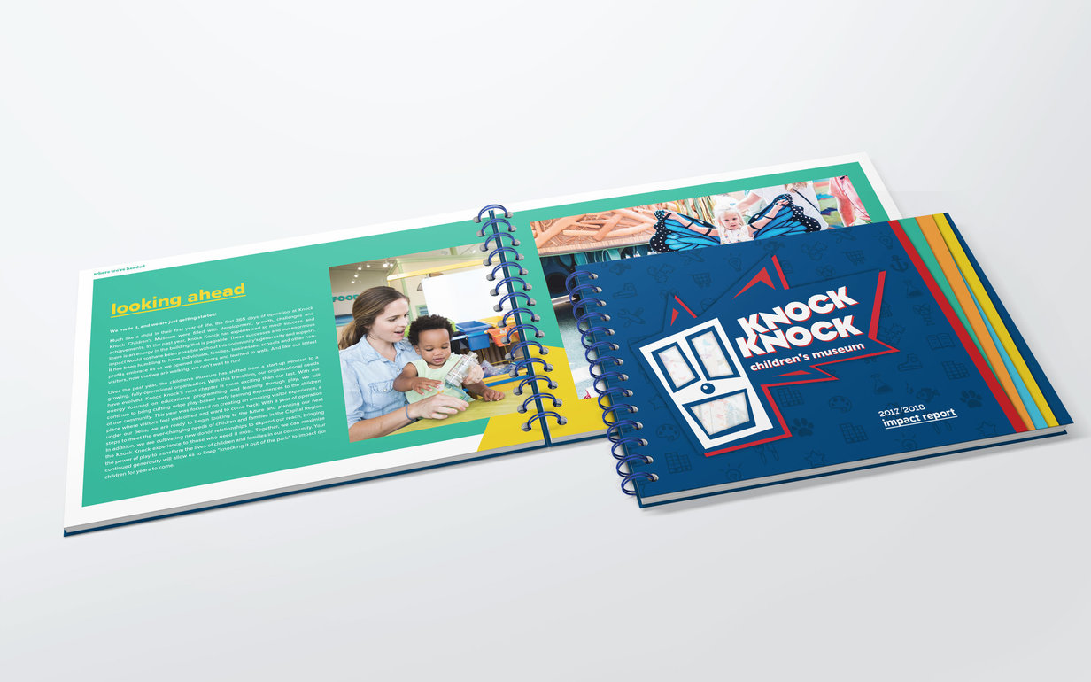 Knock Knock Annual Report Open