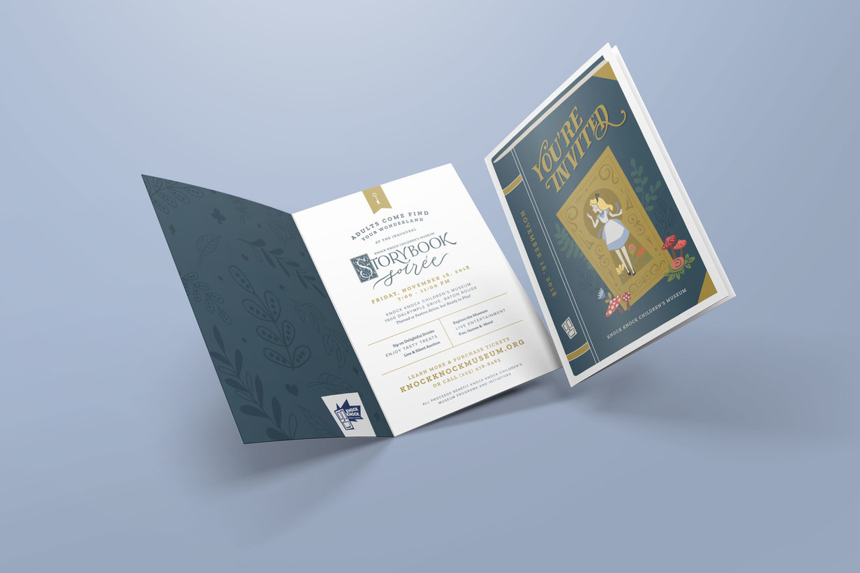 Knock Knock Storybook Soiree Invitation