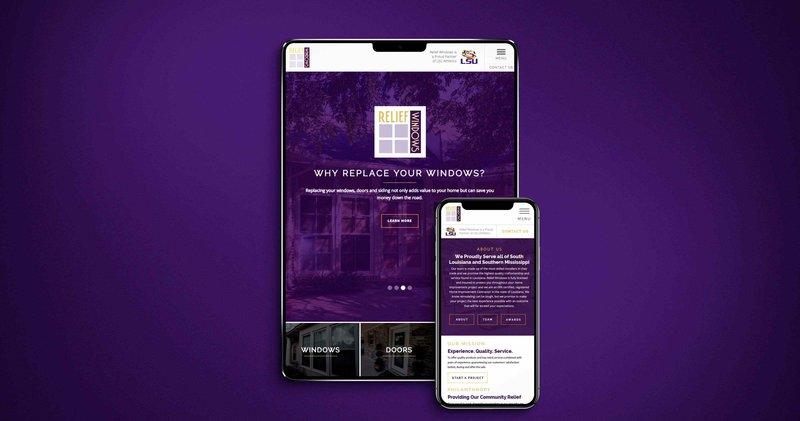 Relief Windows Website