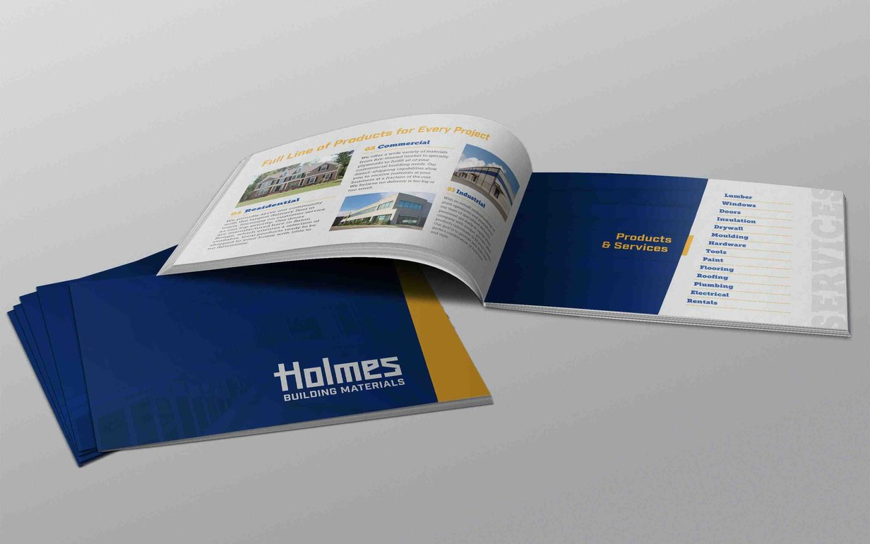 Holmes Building Materials Brochure Min