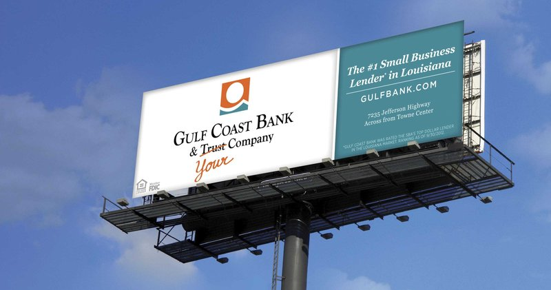 Gulf Coast Bank Billboard Min