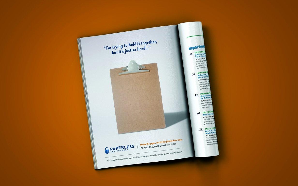 Paperless Print Ads