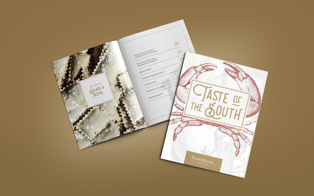 Kean Miller Taste Of Louisiana Cookbook Min