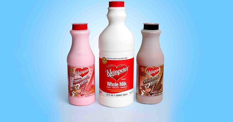 Kleinpeter Milk Packaging