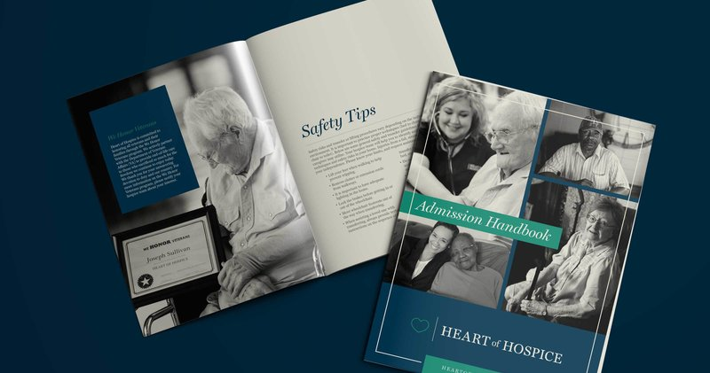 Heart Of Hospice Admission Handbook Mockup