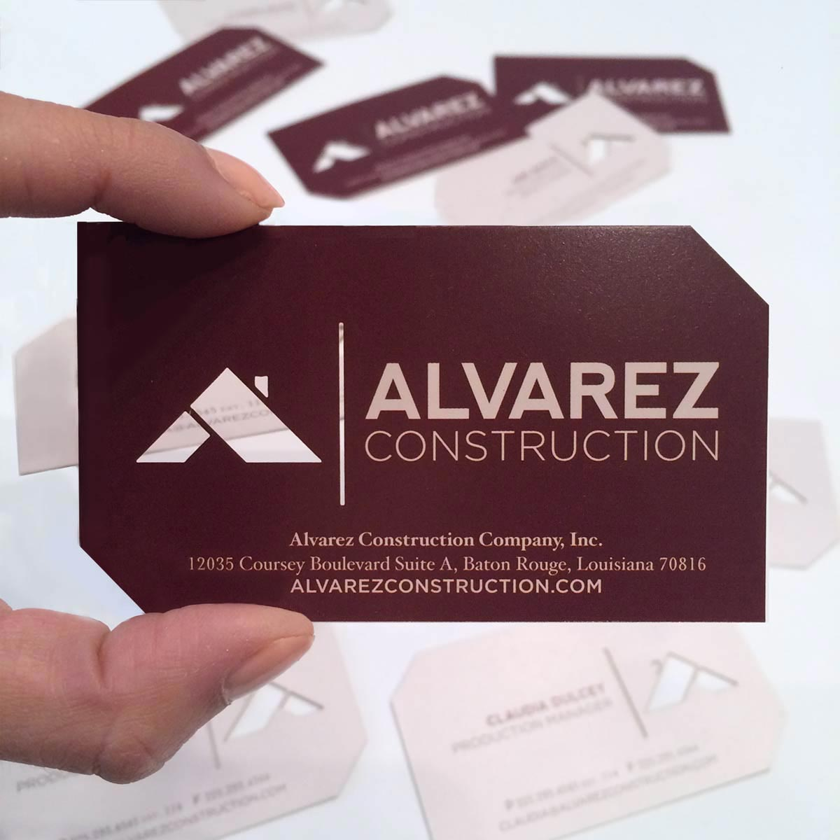 Alvarez Business Cards
