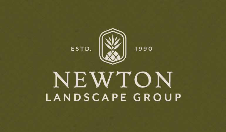Newton Landscape Group Logo - Xdesign Baton Rouge