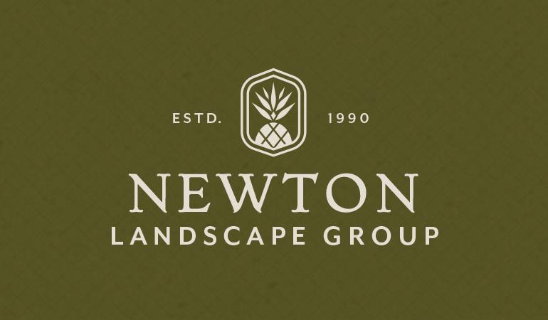 Newton Landscape Group Logo - Xdesign Baton Rouge