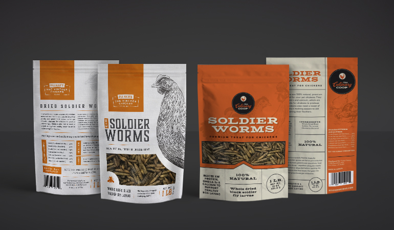 Fluker Farms Packaging - Xdesign Baton Rouge
