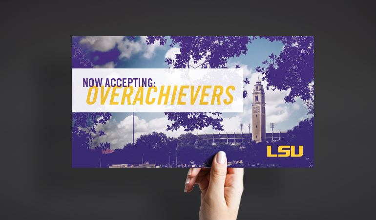 LSU Recruitment Materials - Xdesign Baton Rouge