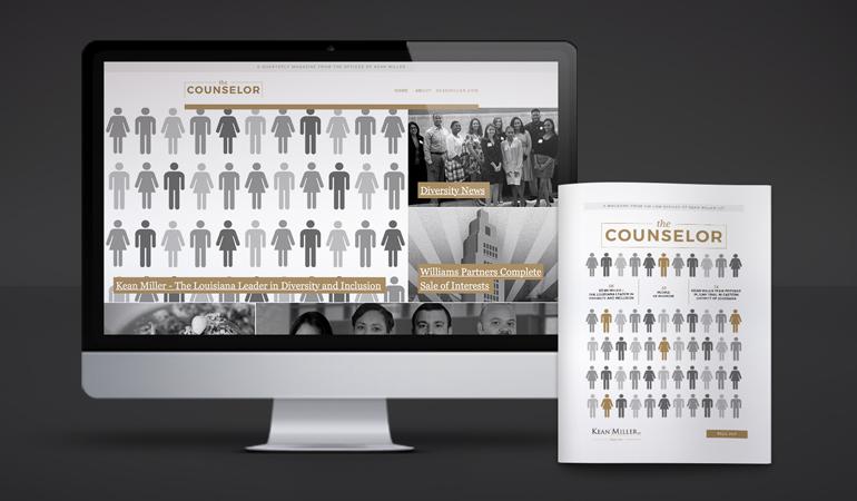 Kean Miller Counselor Magazine - Xdesign Baton Rouge