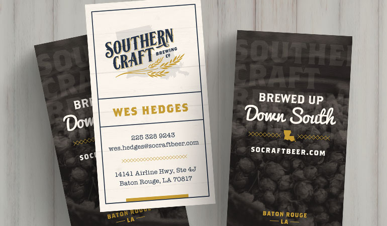 Southern Craft Brewing Co. Business Cards