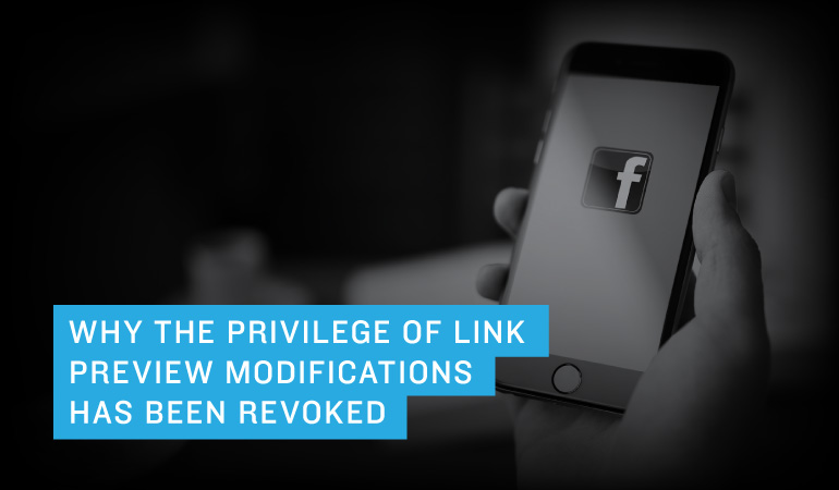 Why The Privilege of Link Preview Modifications Has Been Revoked