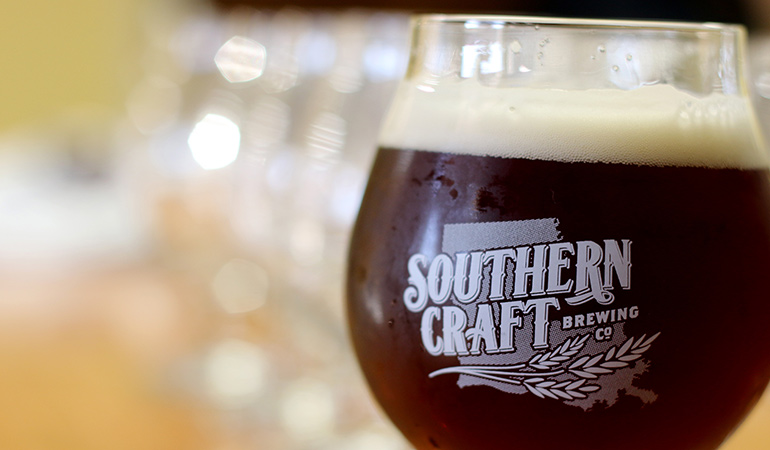 Southern Craft Brewing Co. Glass
