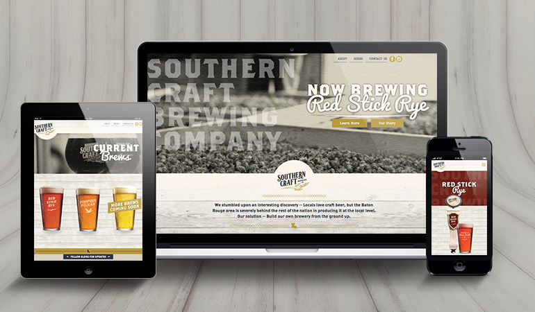 Southern Craft Brewing Co. Website