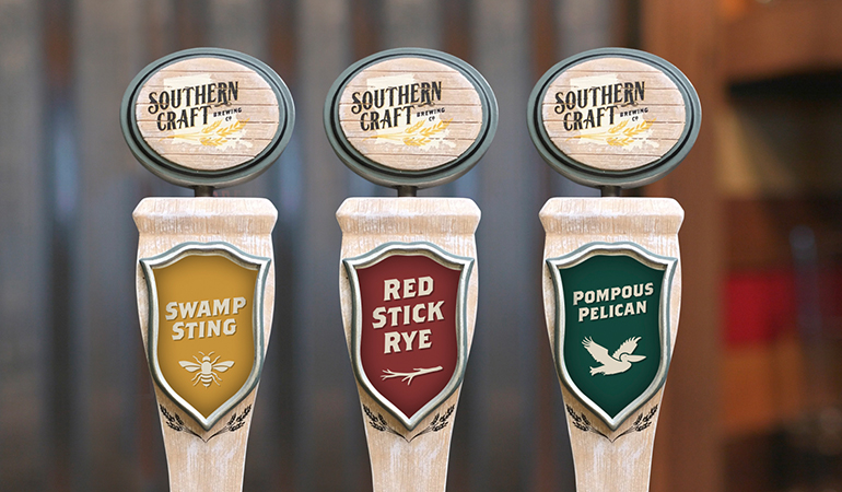Southern Craft Brewing Co. Tap Handles