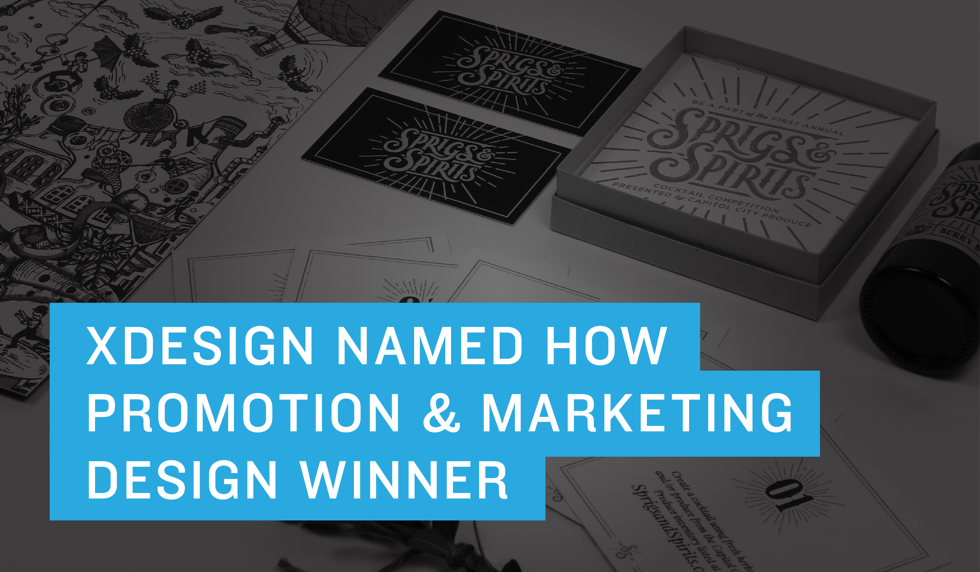 Xdesign Named HOW Promotion and Marketing Design Winner