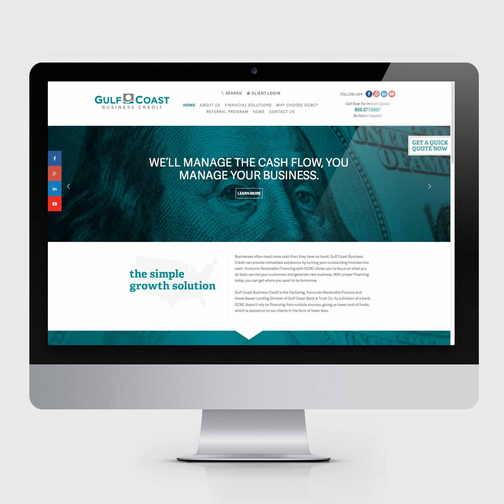 Advancing Brands: Gulf Coast Bank | Xdesign