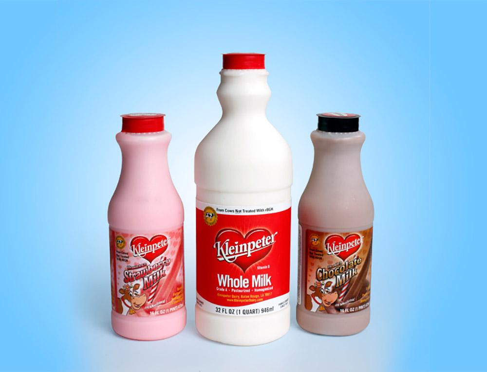PAC Kleinpeter Milk Bottles